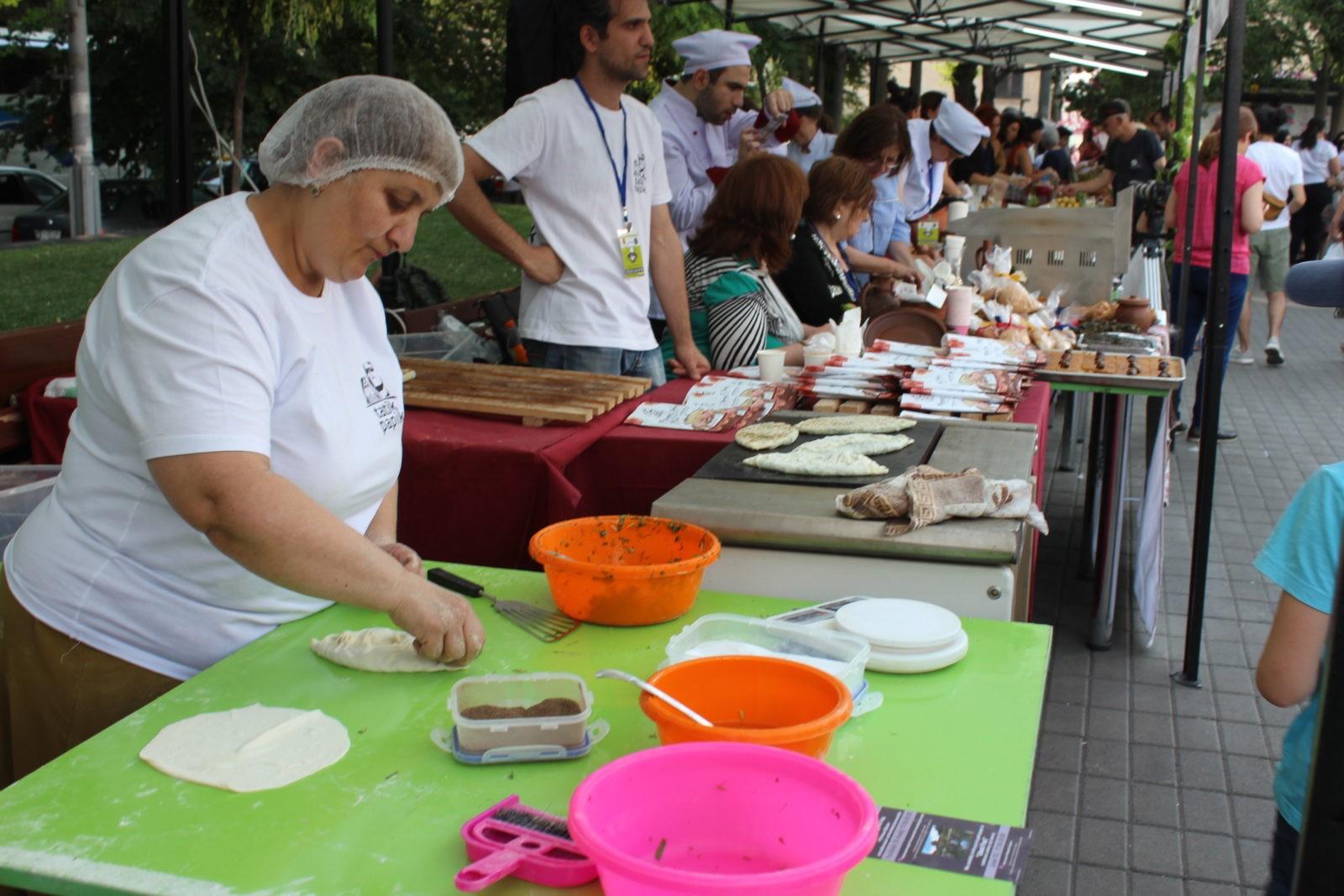 Ազգային ուտեստները՝ մեկ փառատոնի շրջանակում