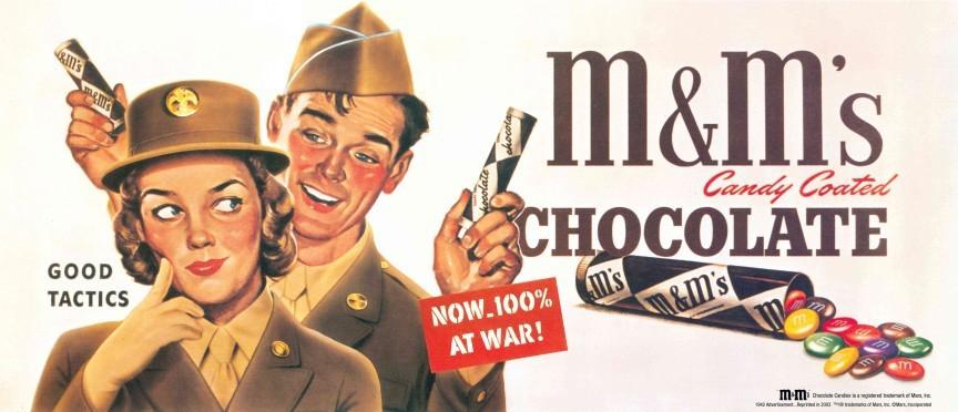 Այն, ինչ չգիտես M&M's-ի մասին