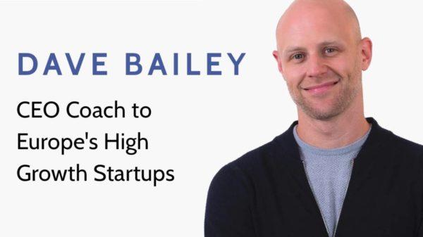 Ինչպե՞ս մեկ նախադասությամբ պատմել բրենդի մասին. Dave Bailey