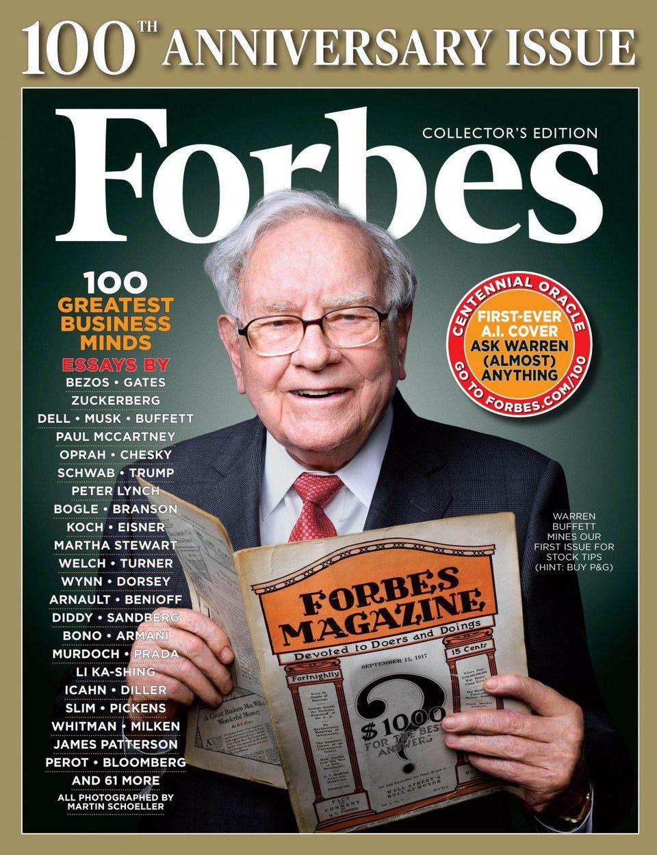 Ո՞վ էր Բերթի Ֆորբսը, ե՞րբ ստեղծվեց «Forbes» հեղինակավոր ամսագիրը